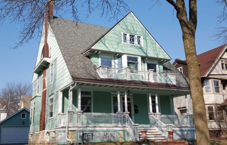 Roof Completed by Community Roofing in Milwaukee, WI