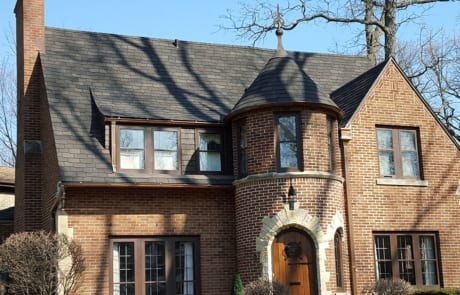 Unique Roofing Done by Community Roofing & Restoration