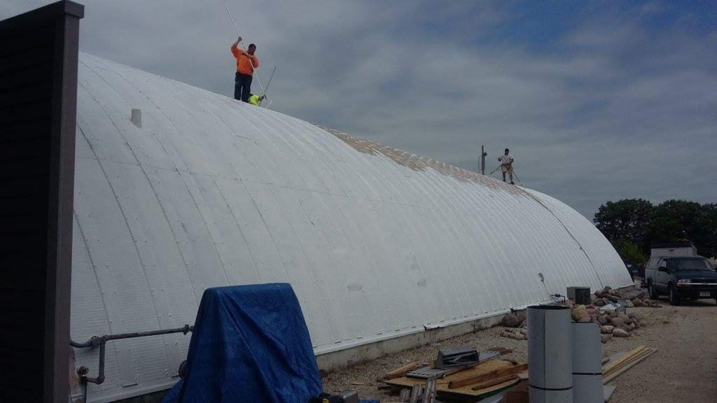 Commercial Roofing Project by Community Roofing & Restoration