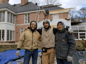 Jesus Orosco with WI Roofing Team - Community Roofing & Restoration