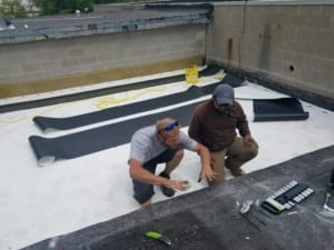 Repairing Commercial Roof Cave-In in Milwaukee County, WI