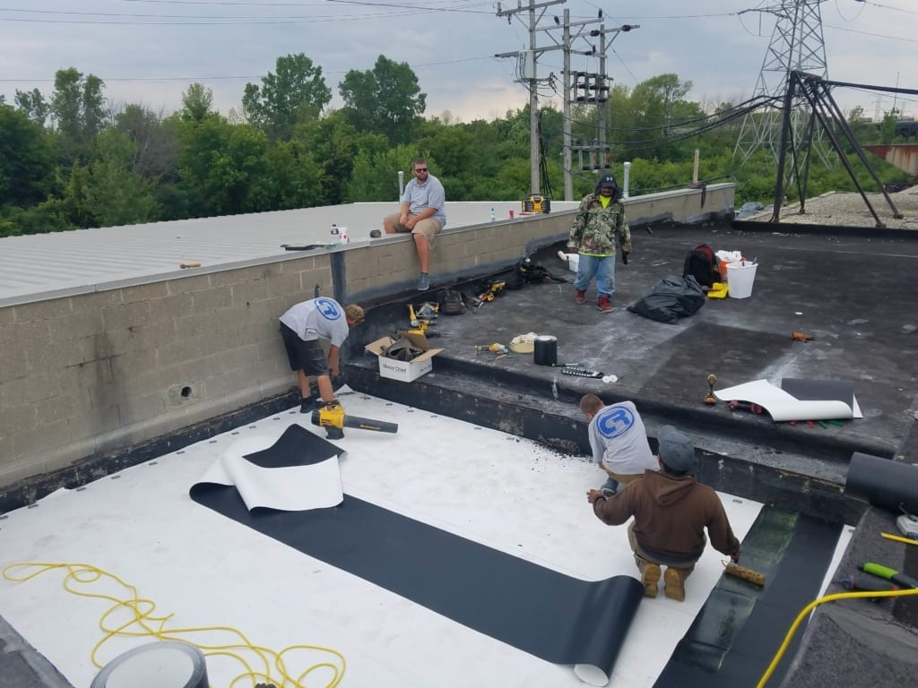 Commercial Roof Reconstruction in Milwaukee County - Community Roofing & Restoration