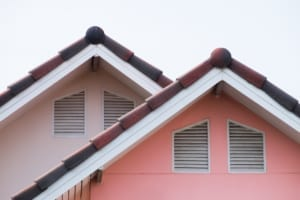 House roof and vents